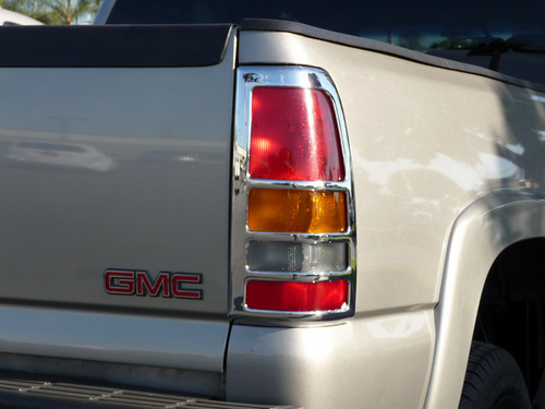 Abs Chrome Taillight Insert Accents