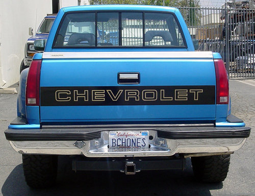 1998 chevy pickup tailgate