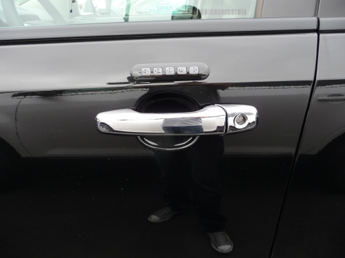 TFP Chrome 200KED Door Handle Insert