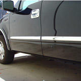Bodyside Molding Insert Accents-Stainless Steel
